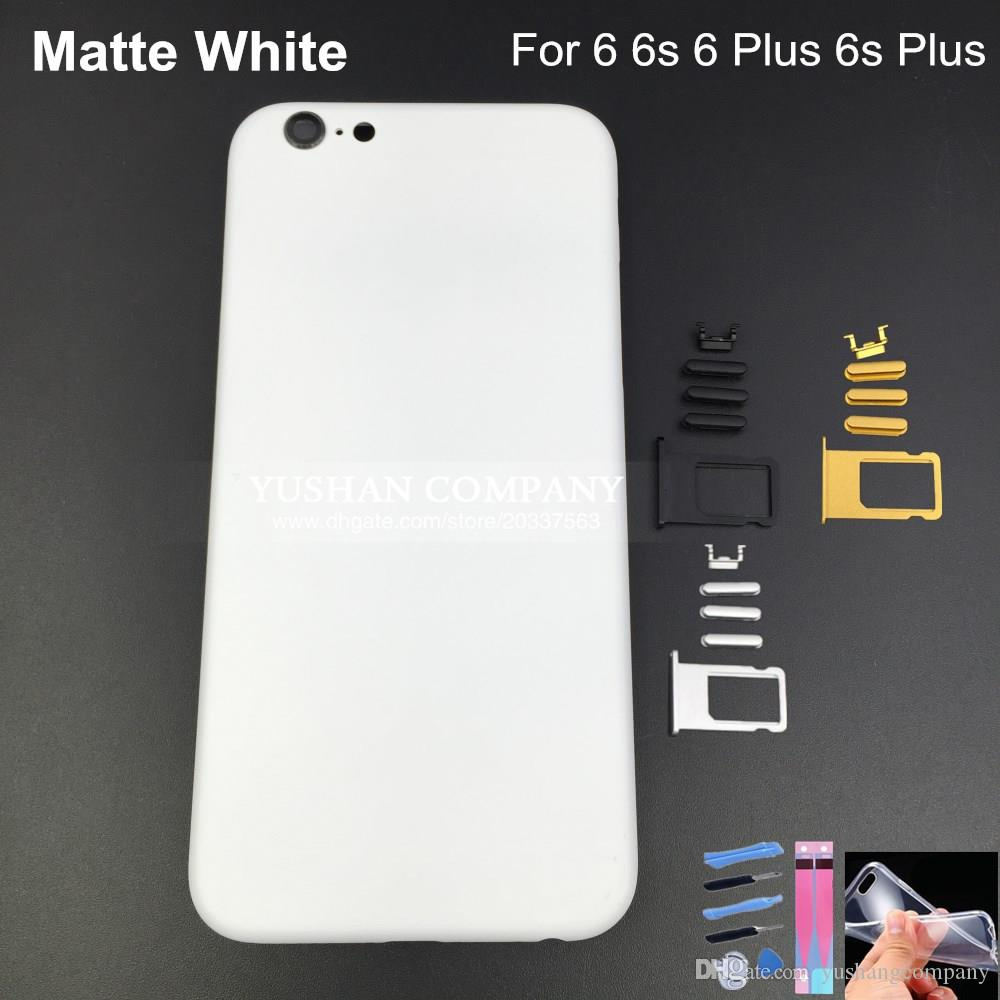 matte white iphone 6 case