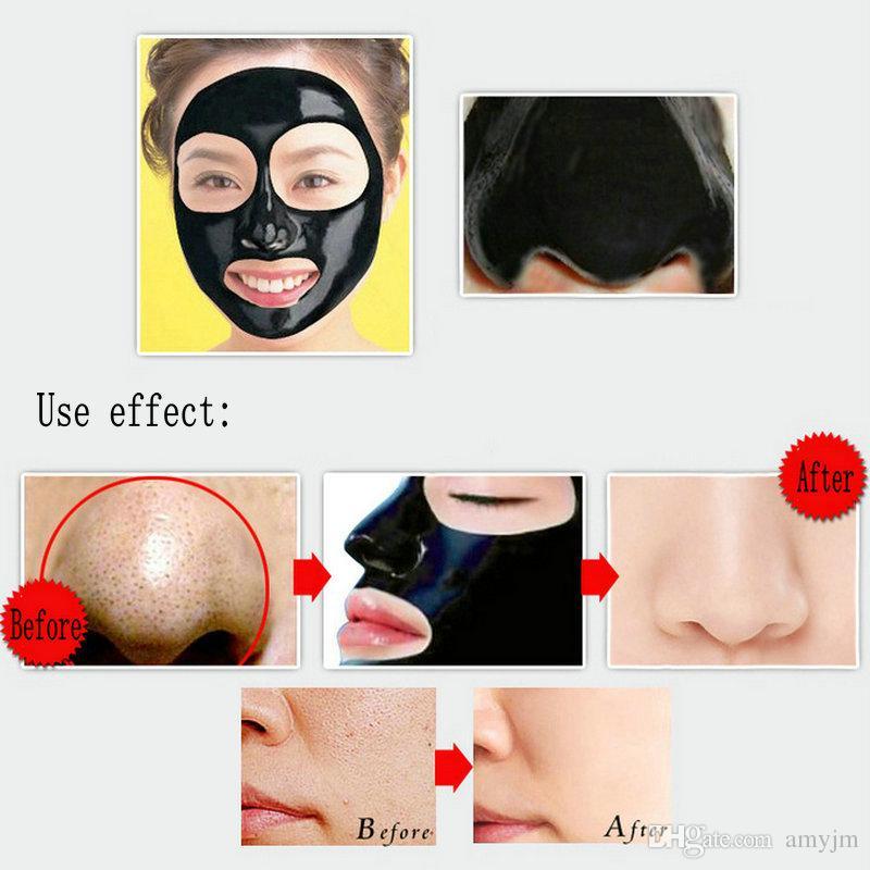 Vendita al dettaglio 10 pz PILATEN Maschera Nera stile Tearing Pulizia Profonda purificante staccare il trattamento di acne Comedone nero fango rimozione 60g