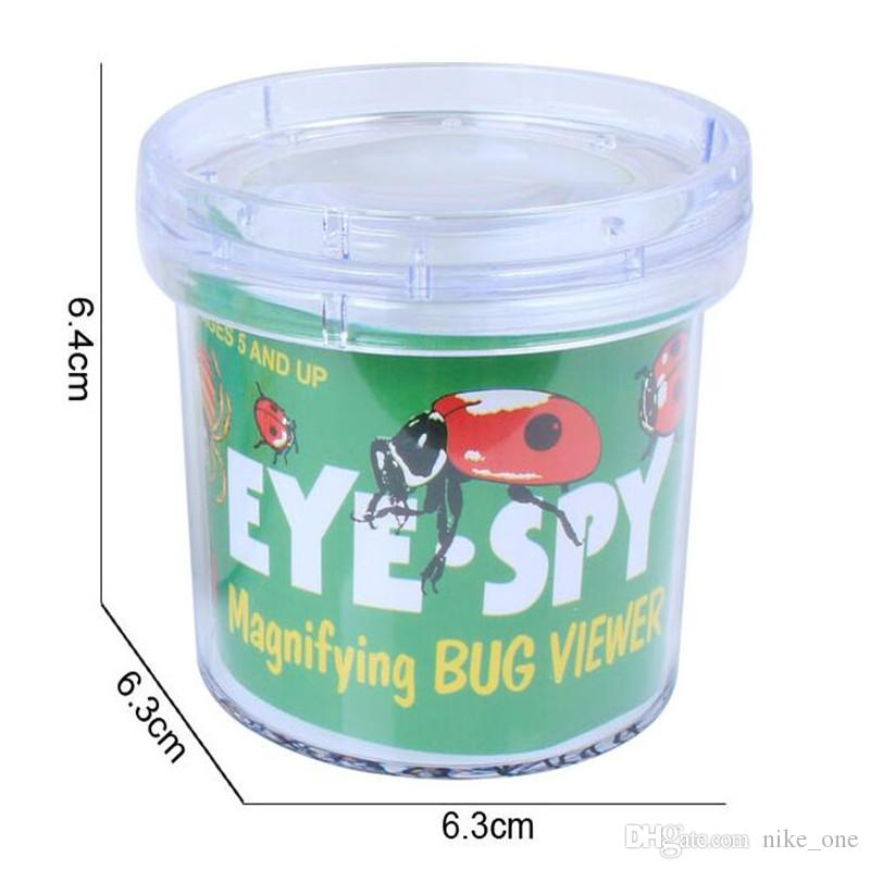 Learning Education Toy Insect Observation Box Insects Magnification Cup Amplifier Tank The Kindergarten School Science Educational Toys