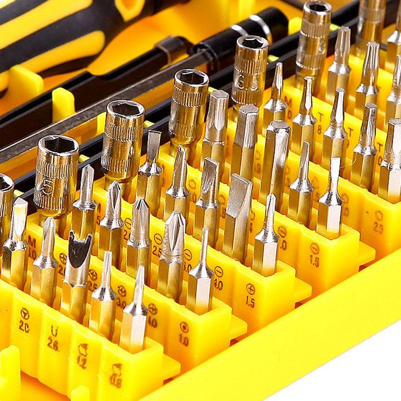 Precision 45 Em 1 Electron Torx Mini Magnetic Ferramenta chave de fenda Set Hardware Manual de Ferramentas manuais Kit Reparação Abertura para o iPhone 5 6 6S 7 Plus