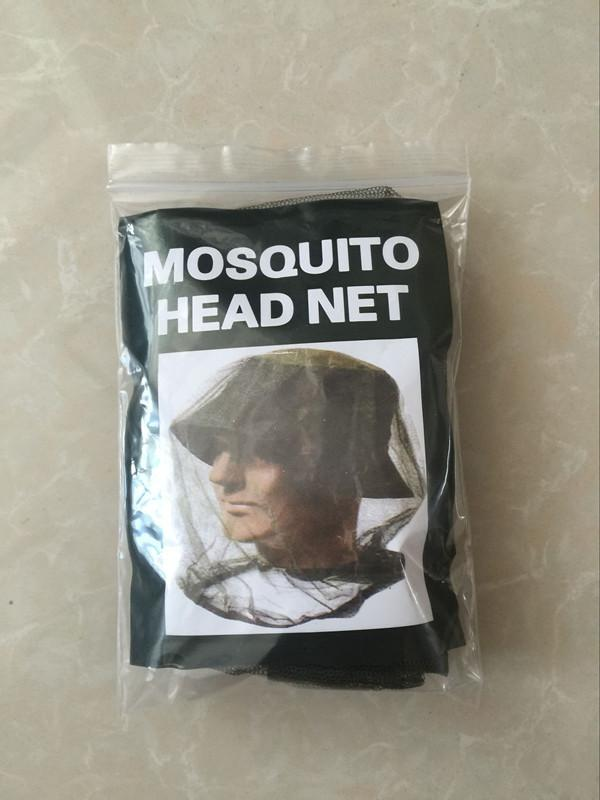 Mask Cap Sleeve Mosquito Insect Hat Bug Mesh Head Net Face Protector Travel Camping Outdoor Gear B121Q