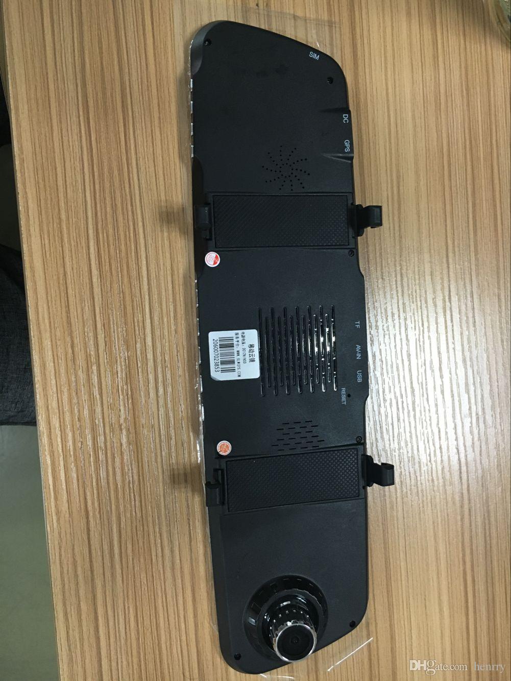 FHD Dual Camera Car DVR 4.3 Inch Dash Cam PZ905A Bluetooth Night Vision Pip Loop Recording VMD Parking Monitoring G Sensor EMS