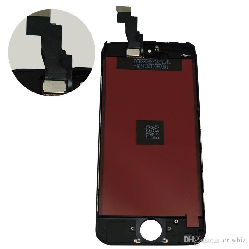 New Arrival Quality for iPhone 5C 5G LCD Touch Screen Digitizer Assembly Black and White Color Perfect Packing Free Fast Shipping