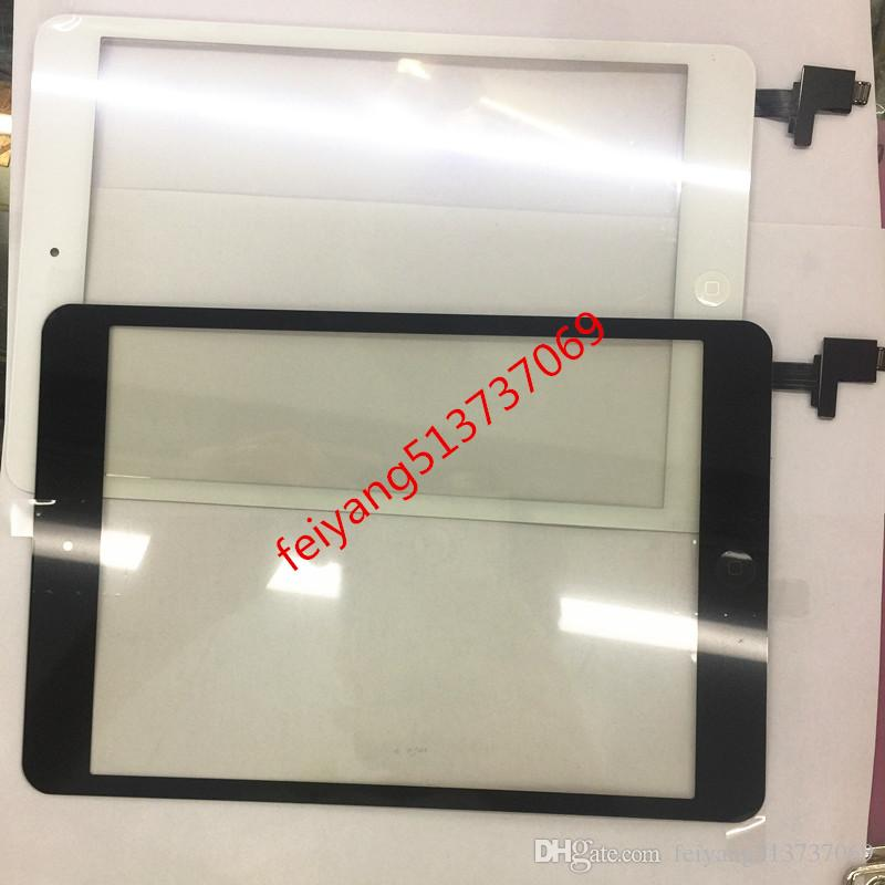 For iPad Mini 1 / 2 Touch Screen Digitizer Assembly with IC with Home Button outer Glass Touch Panel Replacement