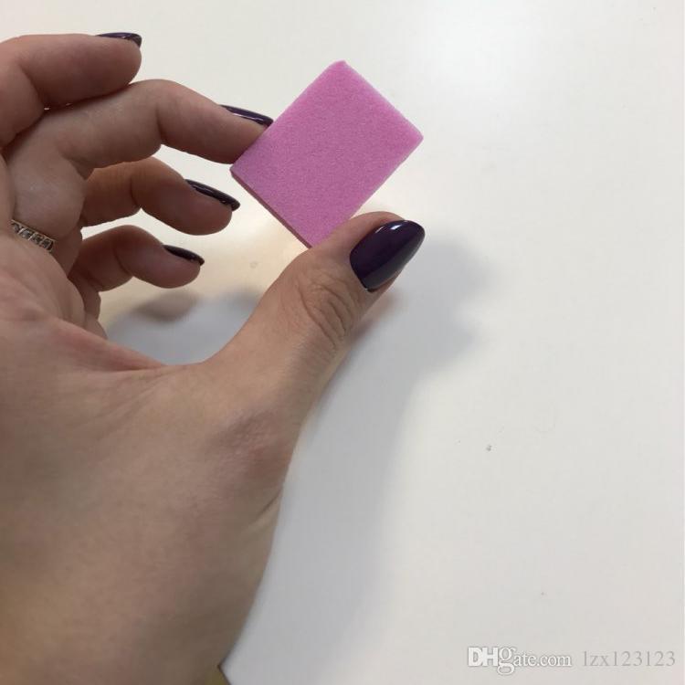 / mini bloc tampon de lime à ongles de ponçage pour outils à ongles art rose émeri conseil pour salon de manucure Livraison gratuite # BK0361-04