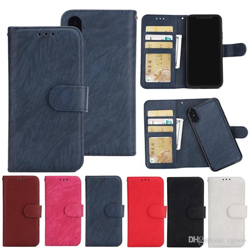 Ретро флип Стенд бумажник кожаный чехол с фоторамкой телефон чехол для iPhone X 8 6 7 Plus S8 Plus S7 Egde Note5