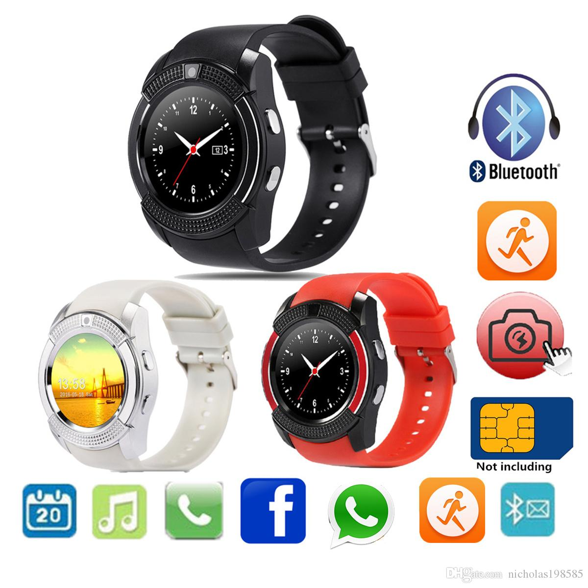 Smartwatch All Questions And Answers How To Change Wallpaper In V8 Smart Watch How To Change