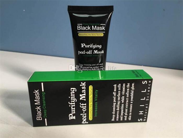 SHILLS Deep Cleansing Black MASK 50ML Blackhead mascarilla facial