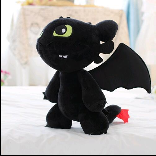 a4811e3a902 2019 18cm 30cm How To Train Your Dragon 2 Toothless Night Fury Soft Plush  Stuffed Doll Toy Christmas Kids Juguetes Gift For Child From Fincek007