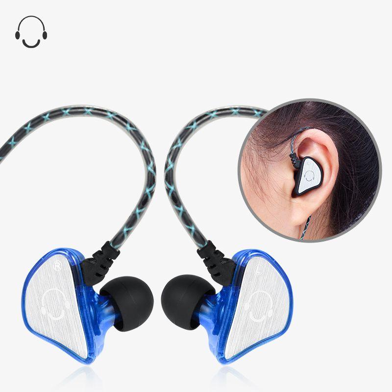 Wired Sport Earphone Bass Sport Binaural Headphone Running Mobile ...