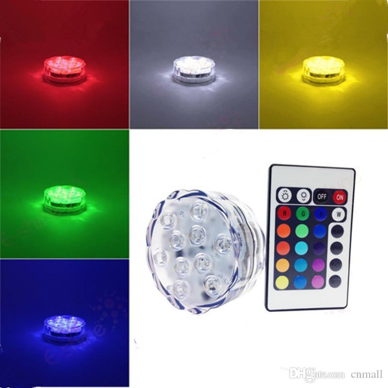 Wholesale Night Lights At $5.55, Get LED Remote Control Diving Light ...