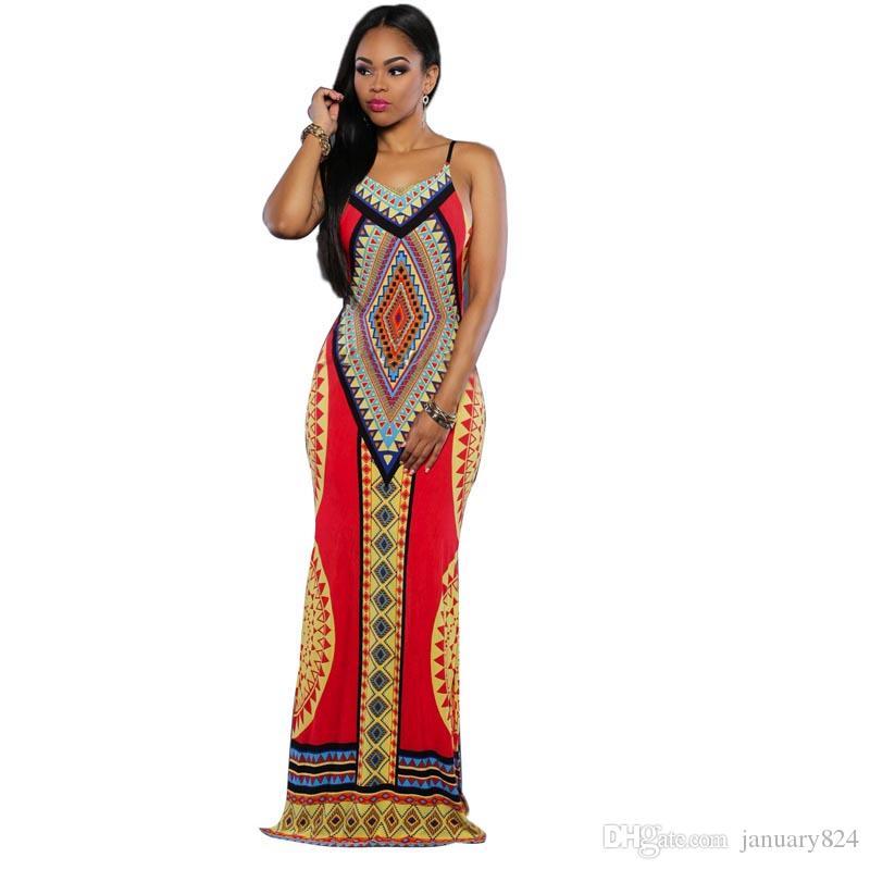 com Vestito Hallow Etnico Ladies Acquista 07 Dal Abito Africano Fashion January824Dhgate New Sexy Out Lungo Elegante Stile 2017 A13 bfg76Yy