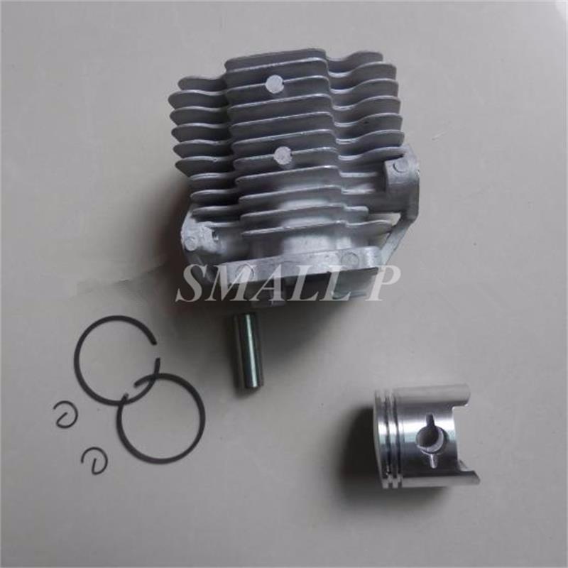 Silindir piston kiti 1E40F-3Z 1E40FP için 40mm-40F-3Z 2 zamanlı sis üfleyici Silindir kolben assy güç püskürtme parçaları