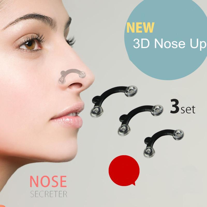 3d الأنف المشكل كليب noses الجهاز تصحيح الجسم الجسم الحمالات أدوات الجمال الشبح رفع شكل جسر أداة لا ألم مدلك للهدايا