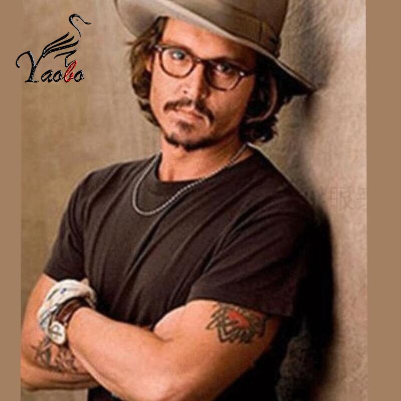 2019 Yaobo Vintage Johnny Depp Optical Glasses Frame Retro Brand Oliver  Peoples Eyeglasses Men Women Eyewear Frames Oculos De Grau From  Yaoboclothing, ... 11b681e858c5