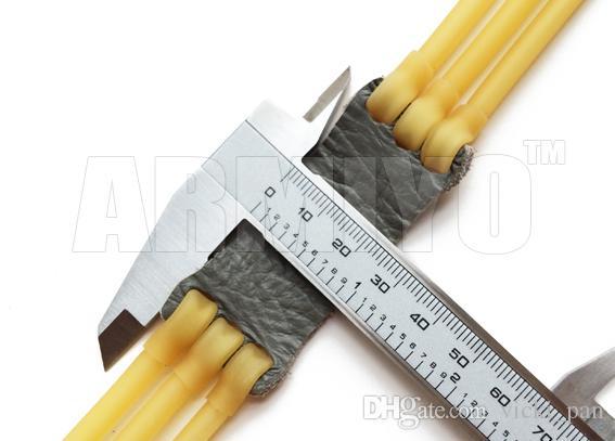 Armiyo 3050 tipo 6 strisce elastico catapulta arco fionda elastici 5mm esterno 3mm tiro interno caccia 5 pz / lotto