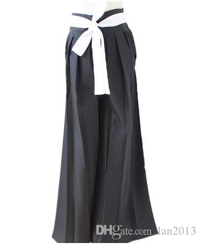 Anime BLEACH ölüm kurosaki ıchigo cosplay Kostüm Shinigami ölüm Kimono tam Set siyah Gömme pelerin + pantolon + Kemer