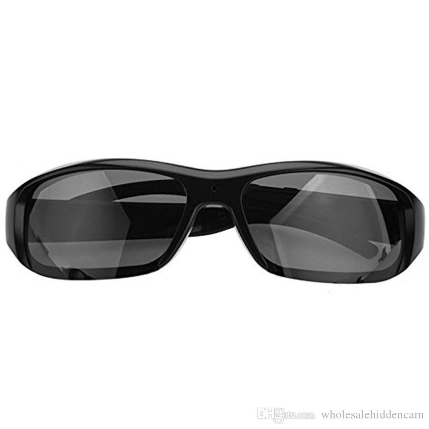 HD 1080P Mini Eyewear Video Recorder Sports Sunglasses Camera Recording Security DVR Mini Glasses Camcorder For Outdoor with Retail Package
