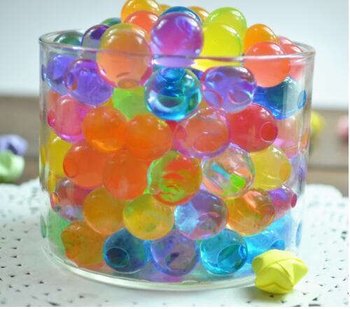 / pack Couleurs mélangées Magic Plant Cristal Sol Boue Eau Perles Perles ADS Jelly Crystal ball sol