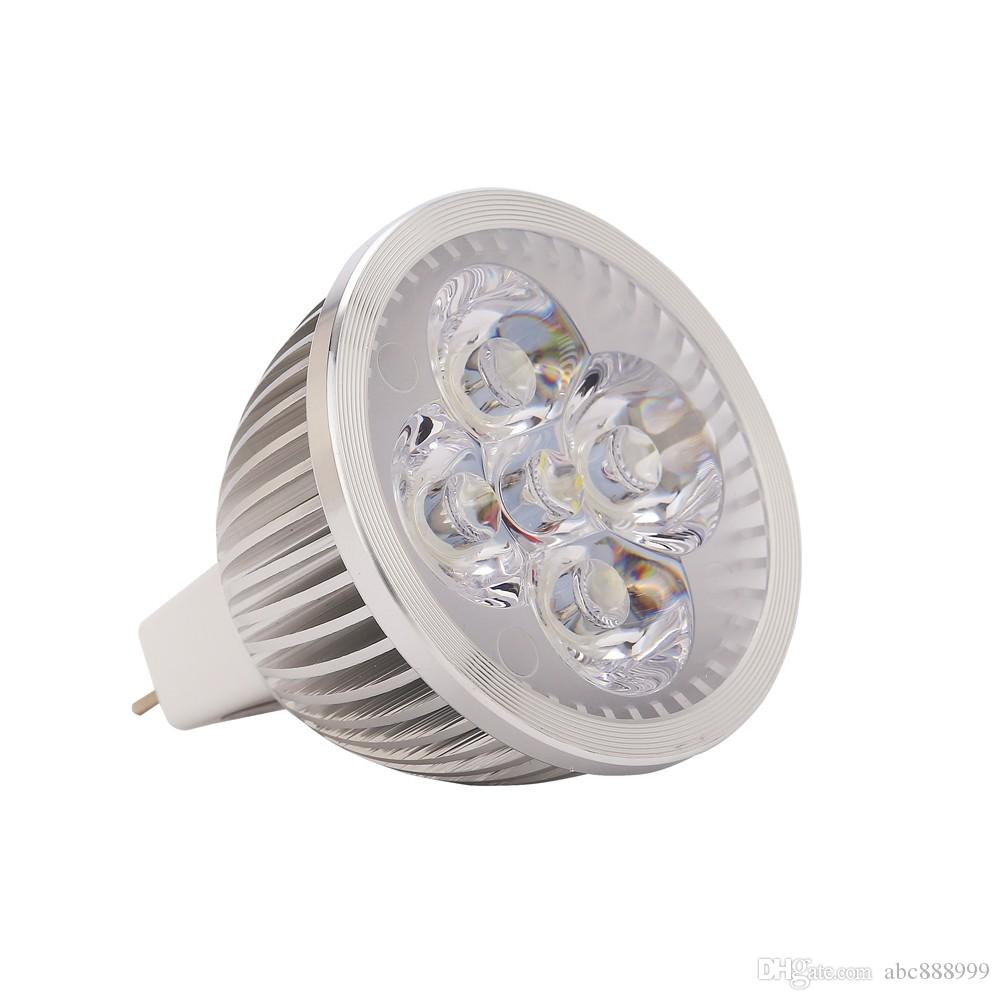 Compre Led Gu10 E27 Mr16 Led Spot Luz Lampe 12 V 85 265 V 4 Vatios ...