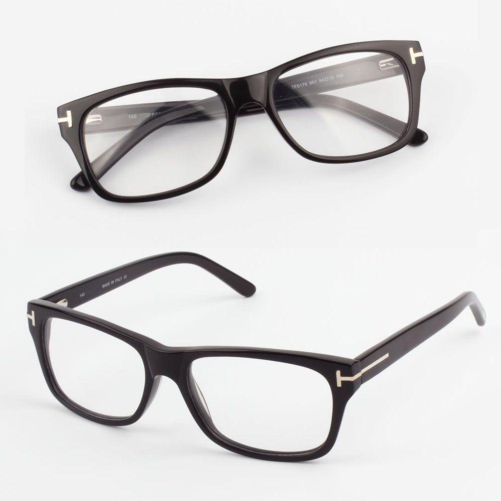 Großhandel 2017 Mens Acetate Optical Frame Mit Stärke Rezept Linse ...