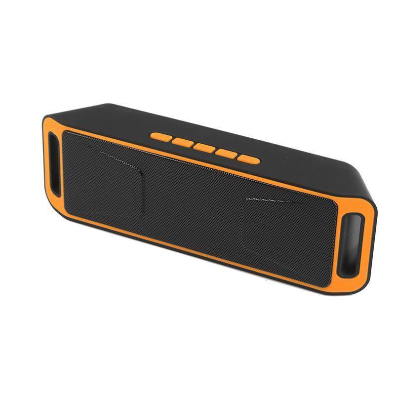 2019 SC208 Bluetooth 4.0 Wireless Speaker TF USB FM Radio Dual Bluetooth Speaker Bass Sound