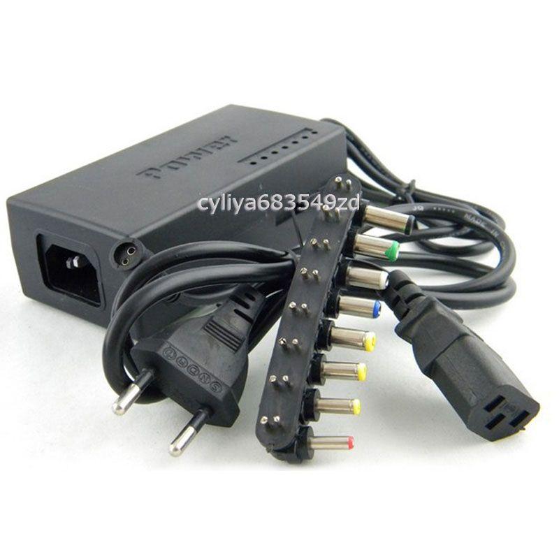 96W Universal AC Power Adapter Charger voor Laptop Notebook DC 15V-24V D2952A met pakket Gratis verzending