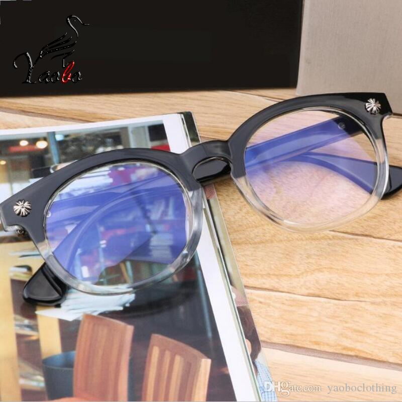 Yaobo New Fashion Vintage Best Quality Glasses Frame Men Women ...