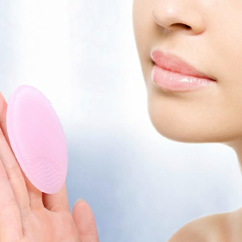 Face Skin Care Tools Latest Collection Of Soft Silicone Heart Facial Cleansing Brush Skin Spa Scrub Pad Tool Face Washing Exfoliating Blackhead Brush Remover Skin Care