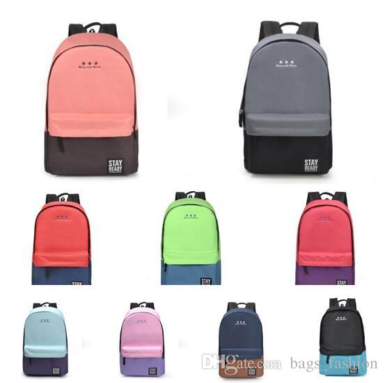 2844cca48af Fashion School Backpack Women Children Schoolbag Back Pack Leisure Korean  Ladies Knapsack Laptop Travel Bags For Teenage Girls Toddler Backpacks Mens  ...