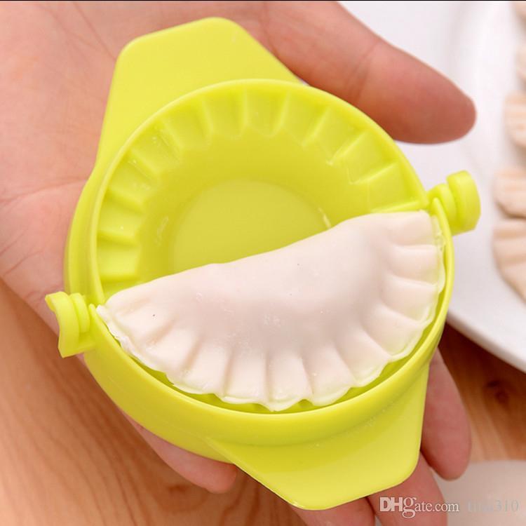 Pack machine à boulettes Petit outil Maison Pâte En Plastique Presse Boulette Tarte Ravioli Moule Maker Cuisson Pâtisserie outils IC562