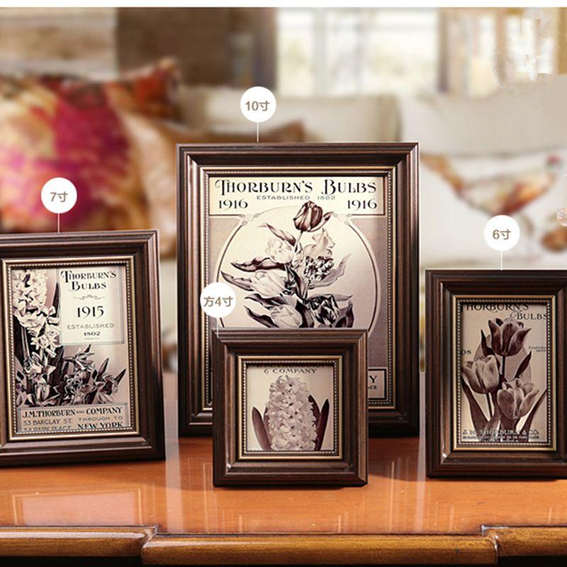46710 Inch Brand Vintage Plastic Frame Porta Retrato Moldura