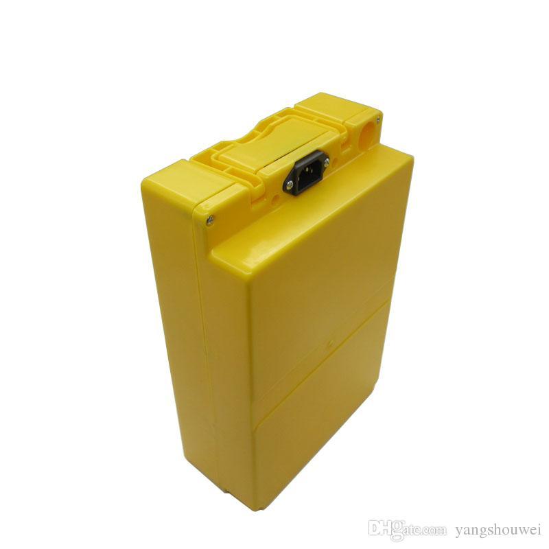 36 V 25AH pil 1000 W 36 V Lityum iyon pil 36 Volt Elektrikli bisiklet Pil sarı kılıf ile 30A BMS 42 V 2A şarj