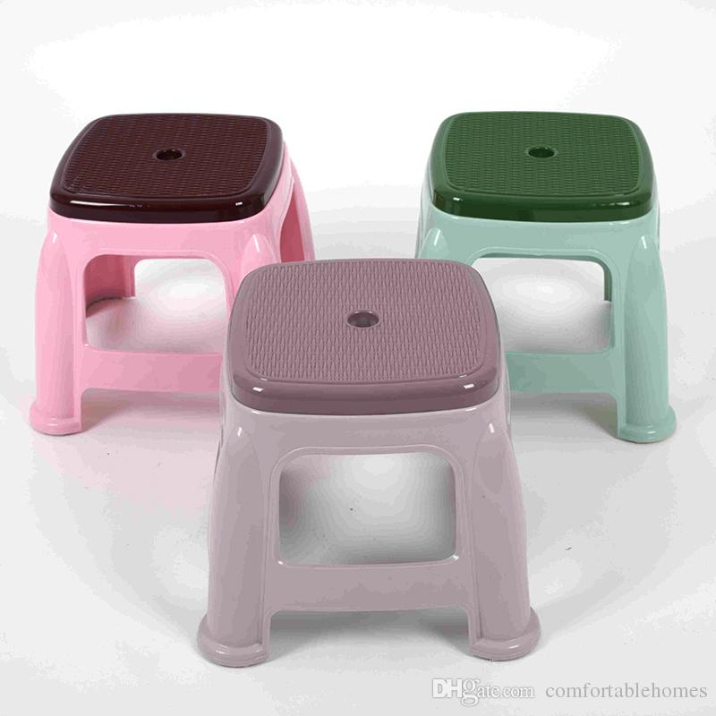 2017 Thicker Child Stool Multifunction Plastic Small Size Bench Durable Personal Square Dining Table Stool Anti Skid Stool For Footwear Bench From ... & 2017 Thicker Child Stool Multifunction Plastic Small Size Bench ... islam-shia.org