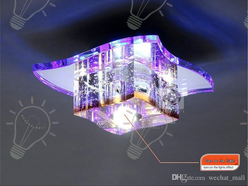 Plafoniere Cristallo Moderne : Acquista plafoniere di cristallo moderne del led modo lampada