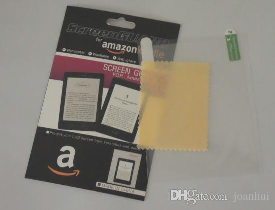 / Amazon Kindle 4 / 터치 / paperwhite 소매 패키지 용 안티 글레어 무광택 화면 보호기