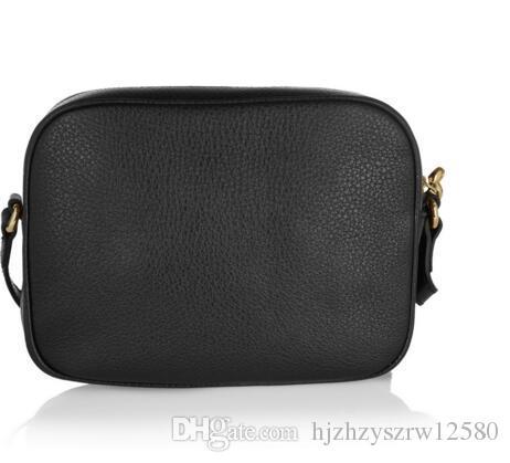 New Style High quality womens Fashion Women Leather Soho Bag Disco Shoulder Bag Purse HANDBAGS 308364