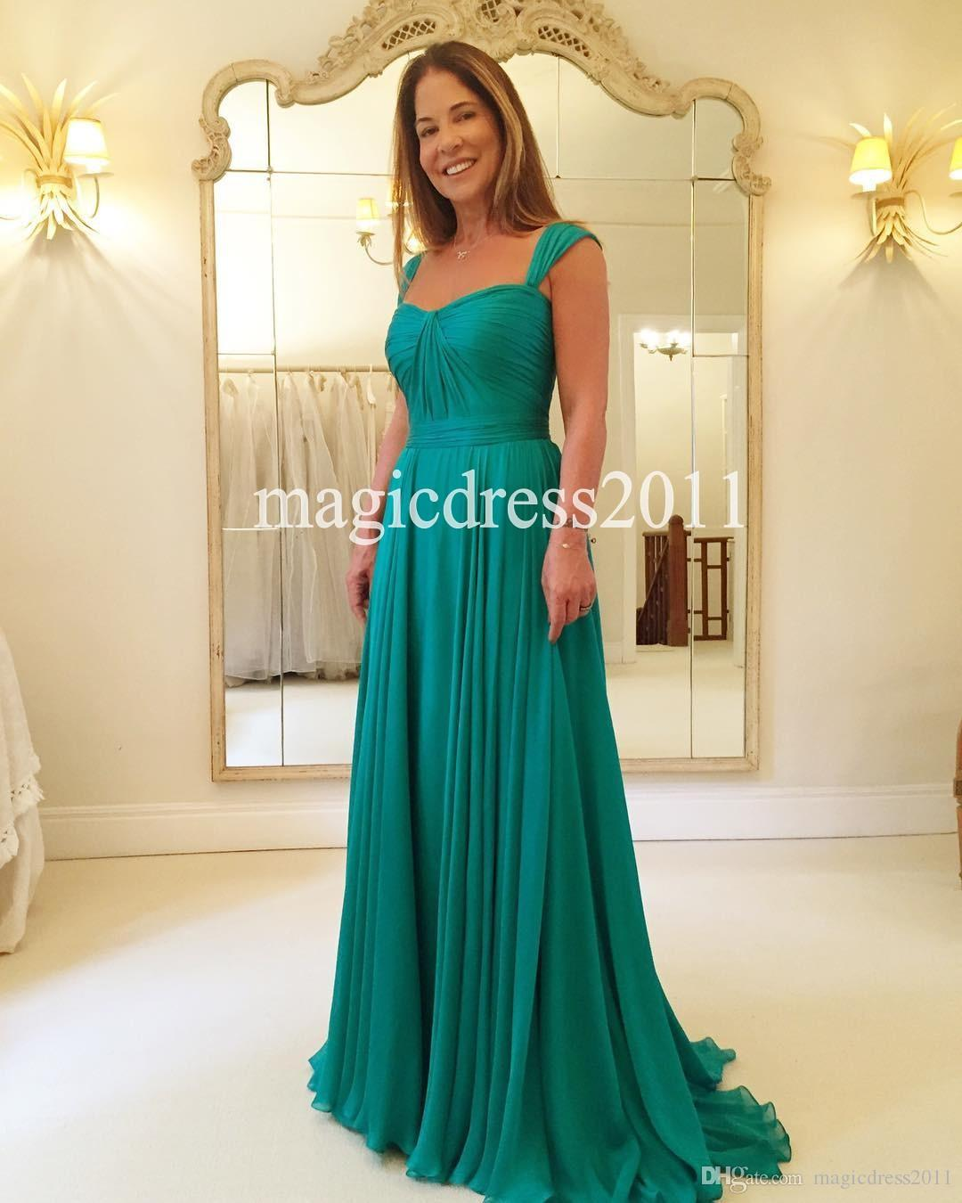 Romantic 2016 Mother Of The Bride Dress Chiffon Beach Wedding