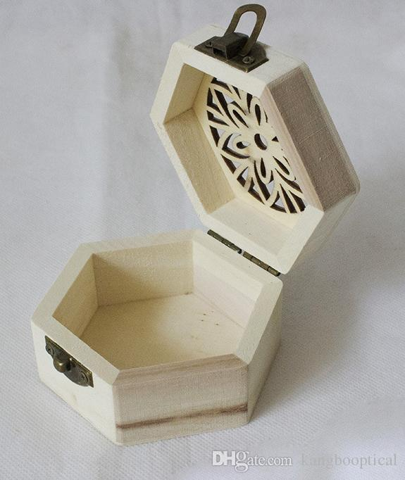 2019 New Arrival Zakka Paulownia Wood Small Wooden Box With Lid And