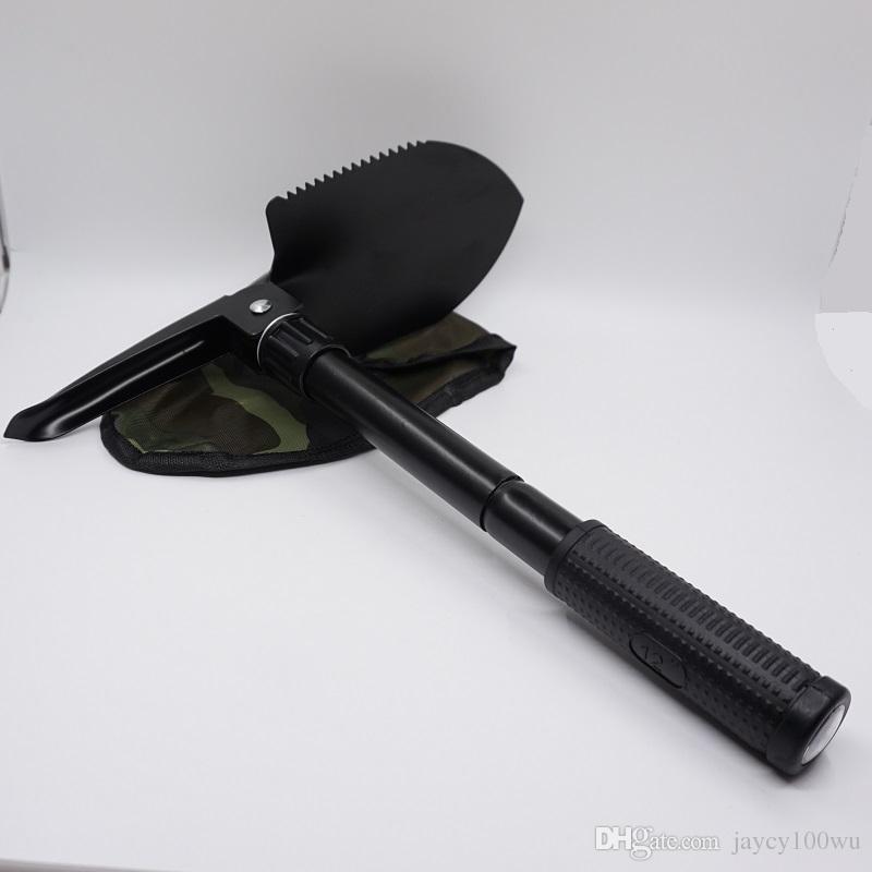 2017 Hot Sale Mini Multifunctional Military Folding Sappers Shovel Survival Trowel Dibble Pick Camping Outdoor EDC Tool Wholesale & Retail