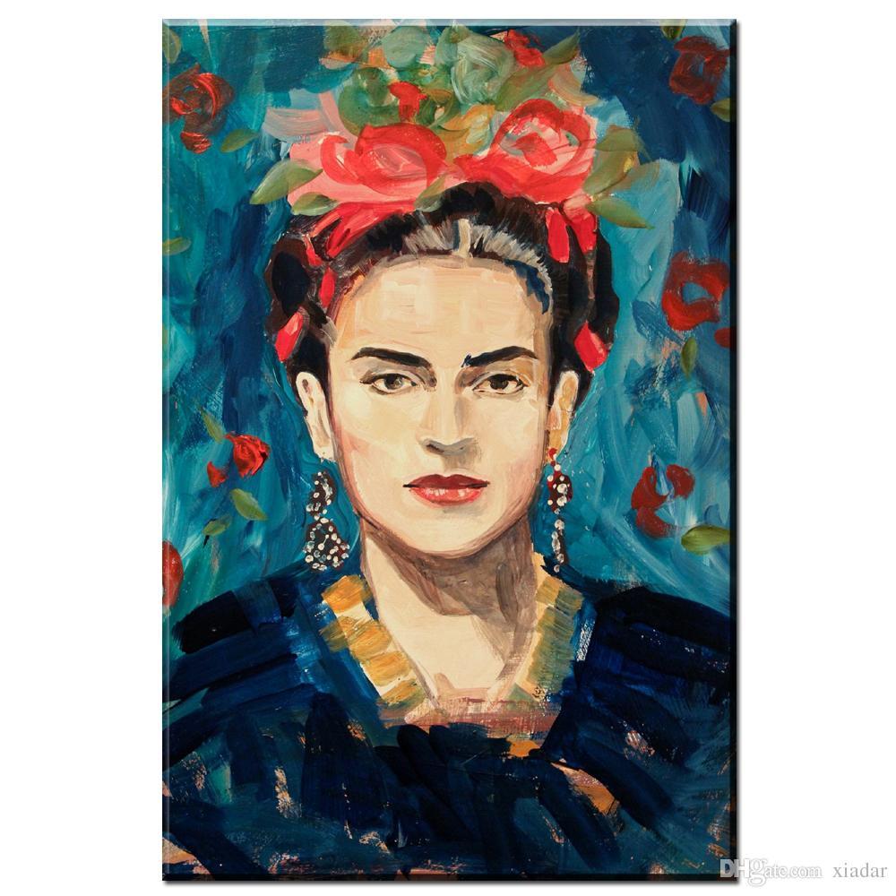 Großhandel Frida Kahlo Wandmalerei Bilder Für Wohnzimmer Wohnkultur ...
