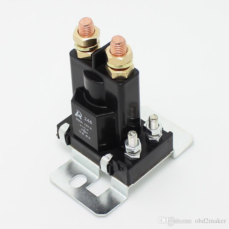 Car relay 500A DC relay contactor large current car supply power switch relay 12V 24V