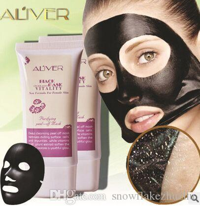 ALIVER female 50 ml remove Blackhead mask Purify detoxification pimples acne anti-wrinkle deep clean carry bright color of skin