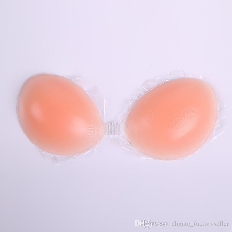 31b1a3777e0 Cheap Opp Bag Silicone Invisible Bra Inserts Pads Push Up Enhancer Breast  Strapless Free Bra Reusable UK 2019 From Xi2015