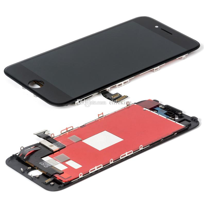 High Quality Display For iPhone 6Plus 6S Plus 7Plus 8Plus LCD Panel Touch Screen Digitizer Full Assembly 6P 6SP 7P 8P Replacement 100% No Dead Pixel Free DHL
