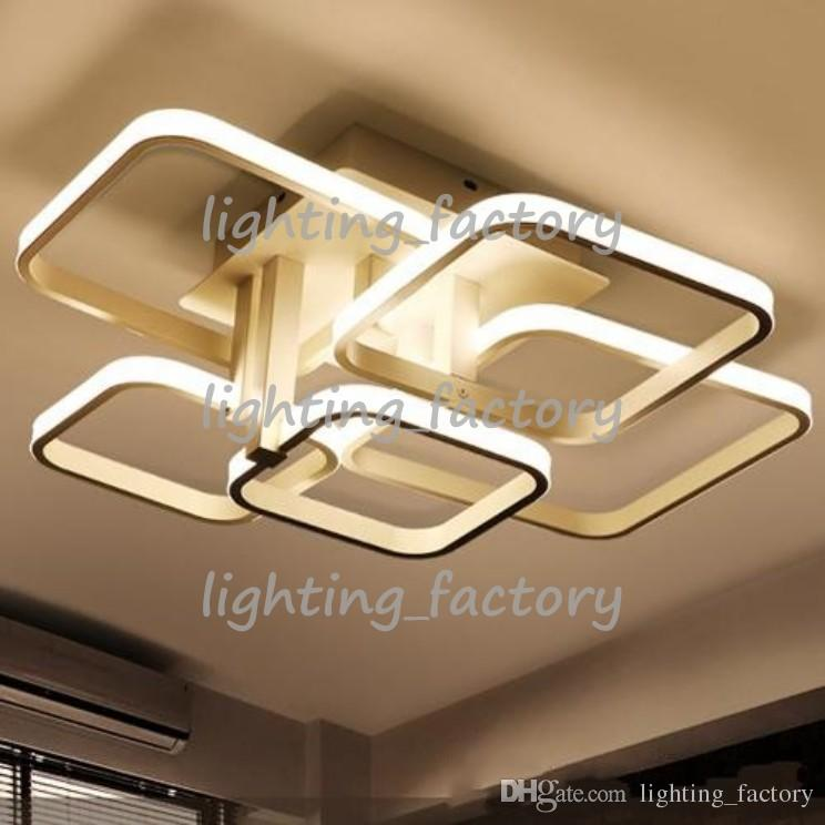 2018 dimmable led ceiling lights white acrylic indoor lighting for 2018 dimmable led ceiling lights white acrylic indoor lighting for dining room restaurant lighting modern new design led lamp ce rohs from lightingfactory aloadofball