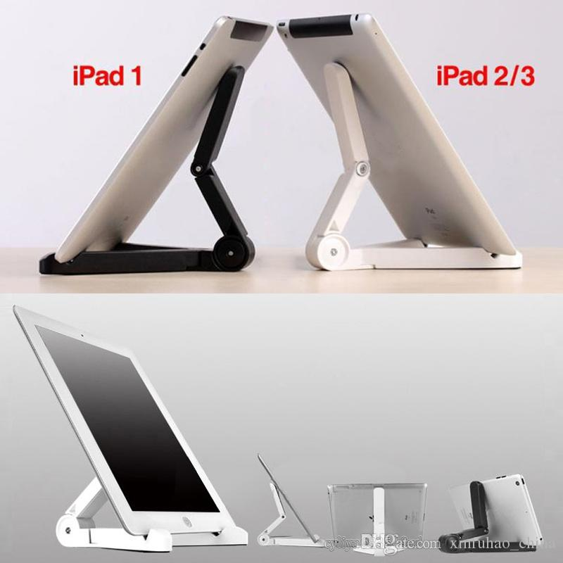 Portable Fold-up Stand Holder Bracket for Apple iPad Mini/Kindle Android Tablet Universal Portable Fold-up Stand