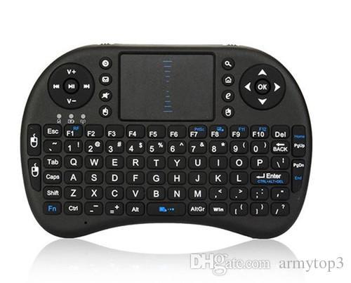 미니 i8 키보드 X20 터치 플라이 에어 마우스 충전식 배터리 USB 케이블 휴대용 2.4G Rii 미니 i8 무선 키보드 마우스 콤보 터치 패드 PC
