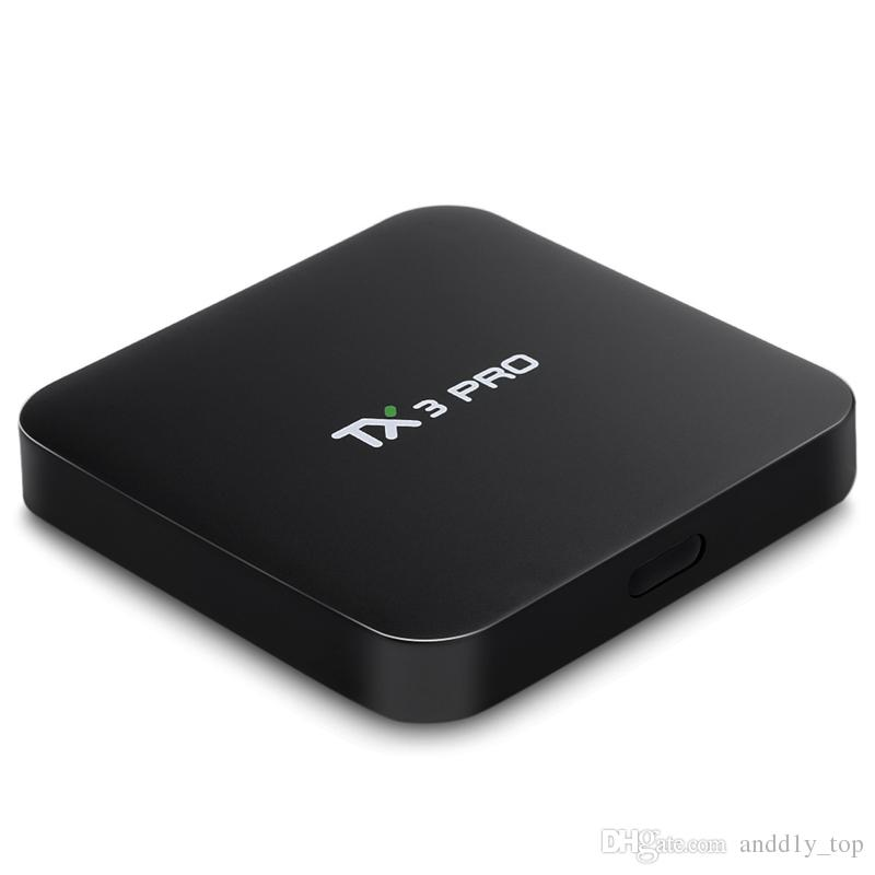 S905X Android 6.0 TV Box HDMI Streaming Media Player 1GB 8GB DLNA Miracast TX3 Pro Smart TV Stick