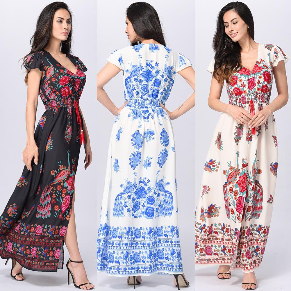 Long dresses with high waist. Pattern dress with a high waist 99